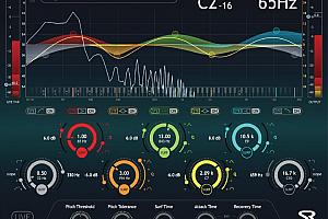 跟踪频点均衡器-Sound Radix SurferEQ v2.0.5 [WiN]跟踪频点均衡器 保持人声音色平衡